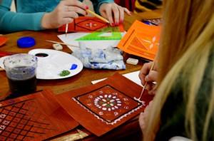 Мастер-класс по сундучной росписи